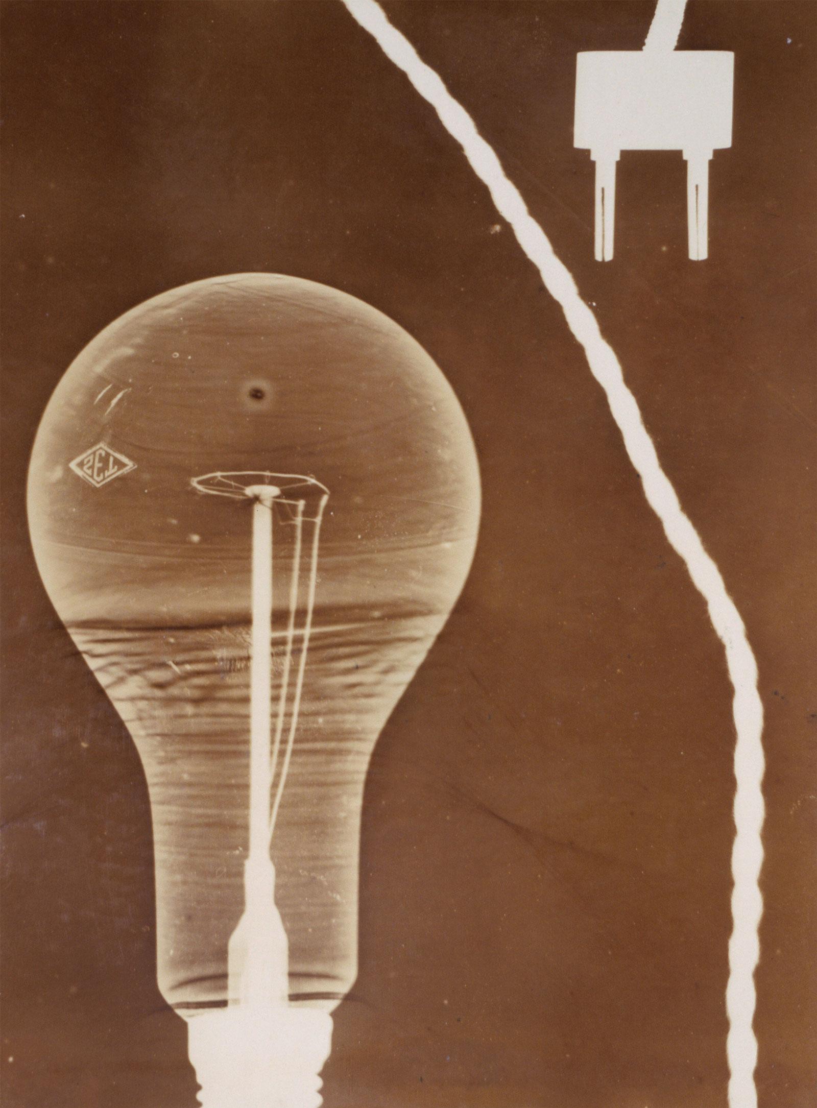 Georgy Zimin: Still Life with Light Bulb, 1928-1930