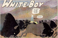 A frame from Garrett Price's <em>White Boy</em>, November 5, 1933