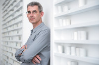 Edmund de Waal in his studio, London, July 2013