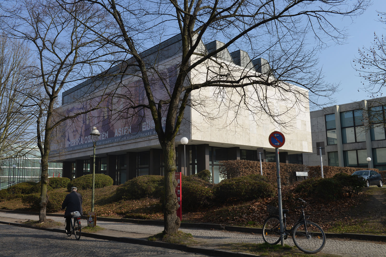 The Dahlem museums, Berlin, March 11, 2014