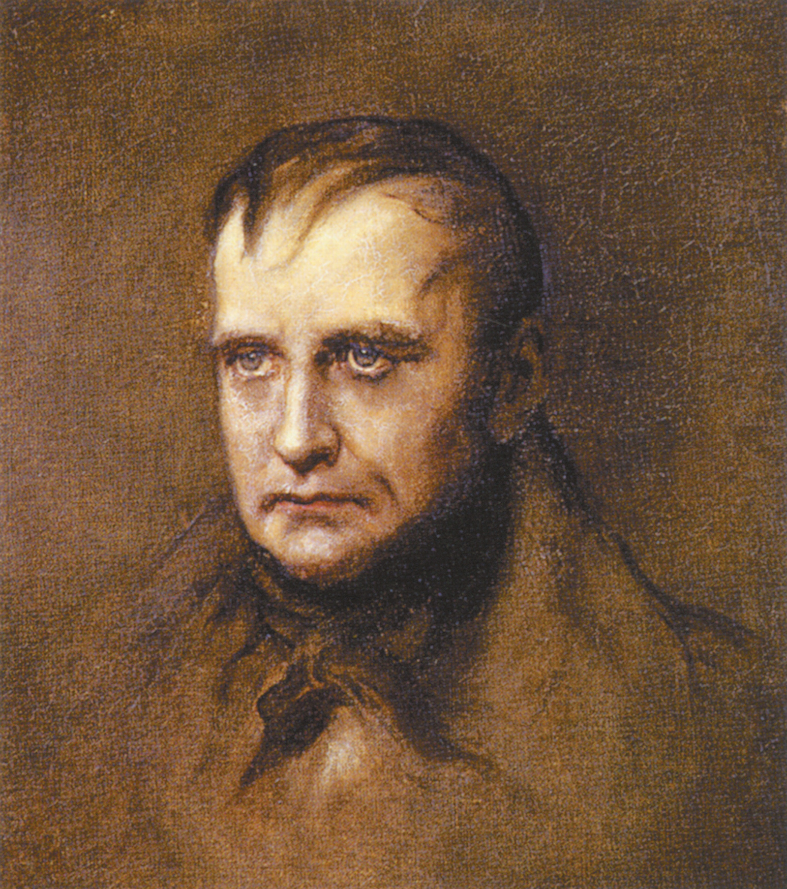 'St. Helena, the Last Stage'; portrait of Napoleon by James Sant, 1901