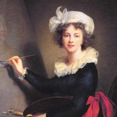 Élisabeth Louise Vigée Le Brun: Self-Portrait, 1790