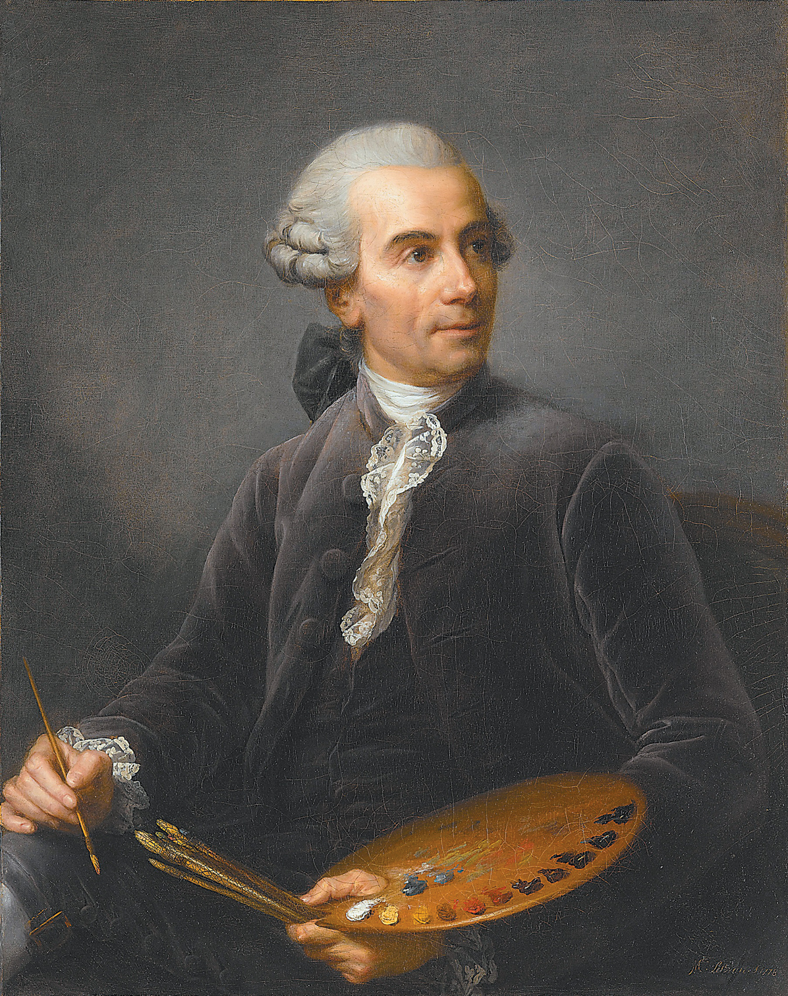 Élisabeth Louise Vigée Le Brun: Joseph Vernet, circa 1778