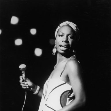 Nina Simone performing in the 1960s
