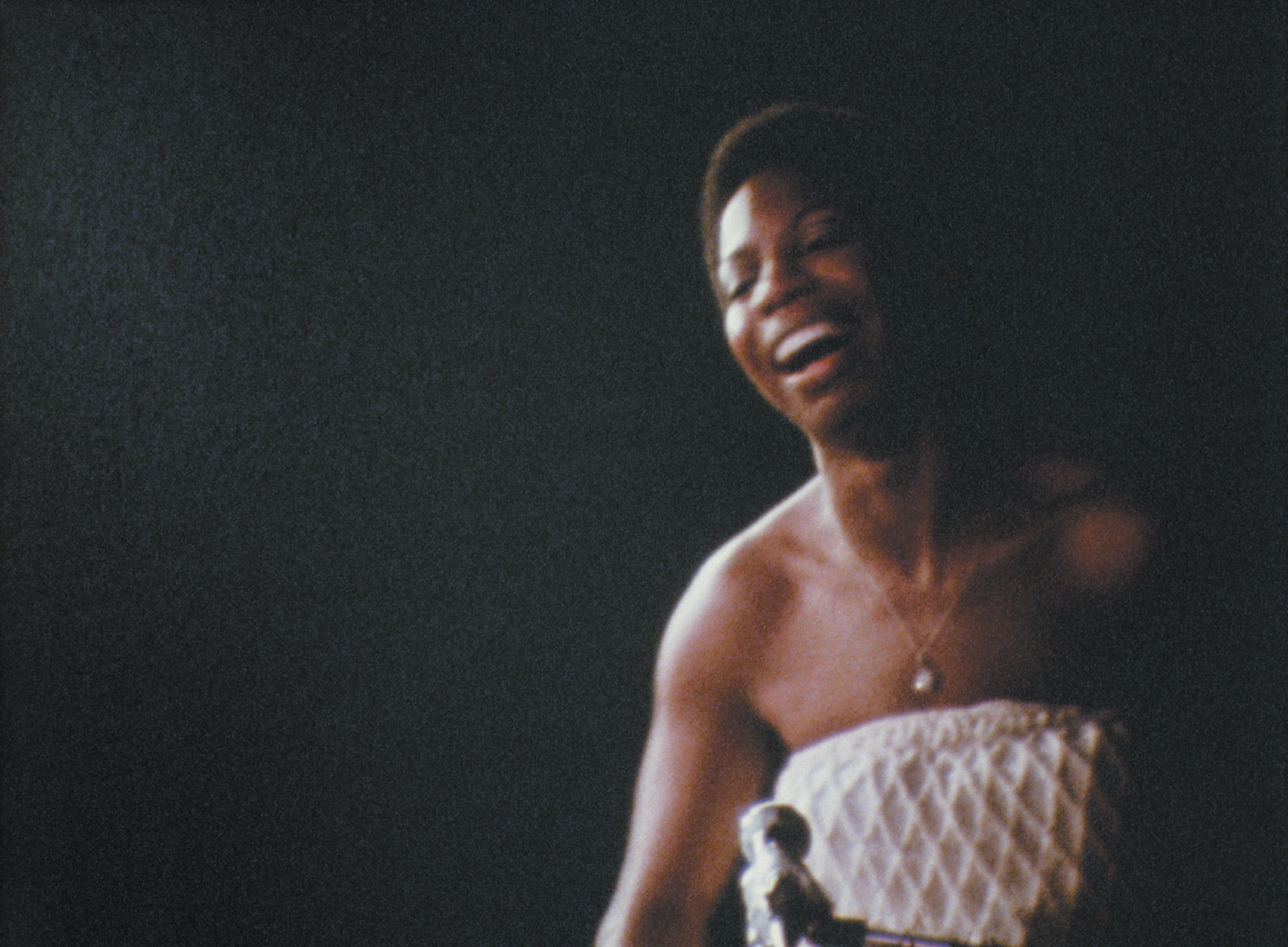 Nina Simone performing at the Village Gate, late 1960s