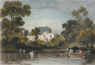 Horace Walpole's country house, Strawberry Hill, in the nineteenth century