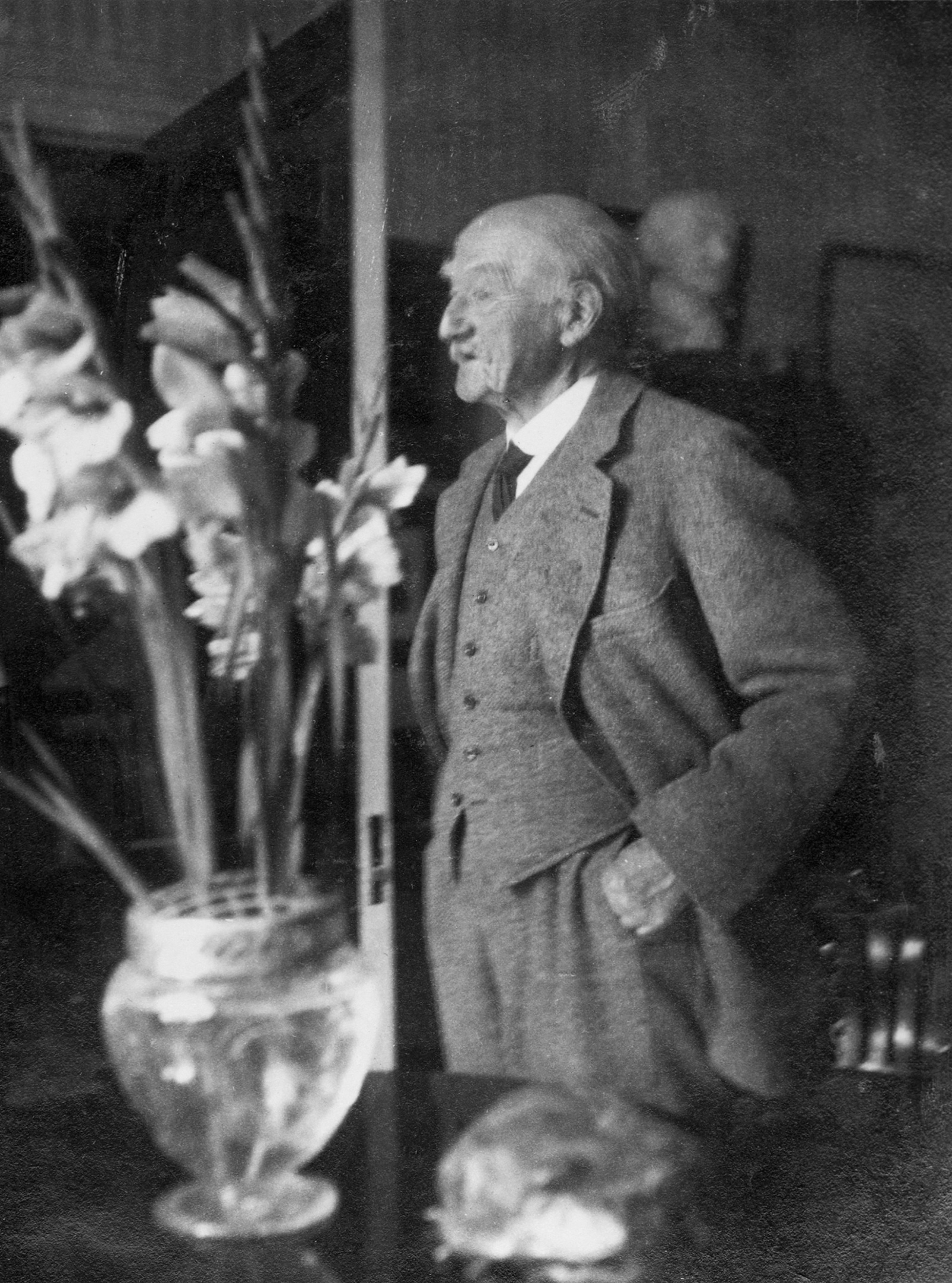 Thomas Hardy, 1924; photograph by Ottoline Morrell