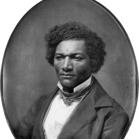 Frederick Douglass, Syracuse, New York, July–August 1843; whole-plate daguerreotype by an unknown photographer, from Picturing Frederick Douglass