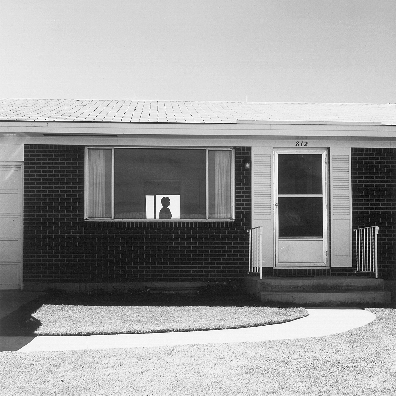 Colorado Springs, Colorado, 1968; photograph by Robert Adams from his 1974 book The New West, to be reissued by Steidl this April. His exhibition 'Around the House and Other New Work' is on view at the Fraenkel Gallery, San Francisco, March 10–April 23, with a monograph published by the gallery.