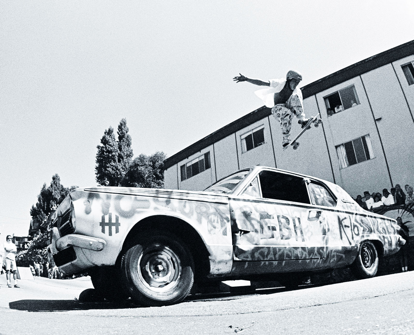 Christian Hosoi, Capitola California contest, 1985