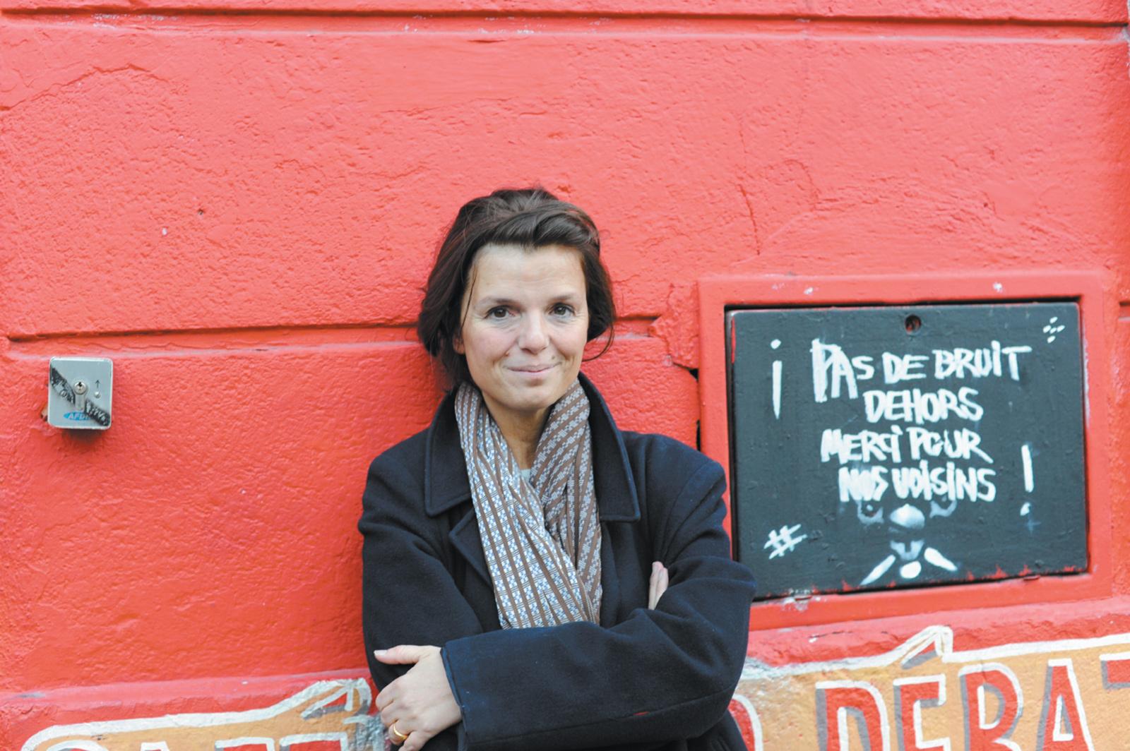 Maylis de Kerangal, Marseille, October 2010