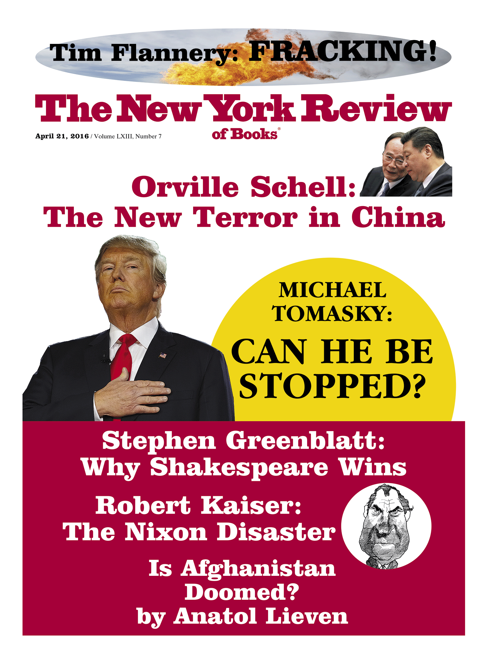 Image of the April 21, 2016 issue cover.