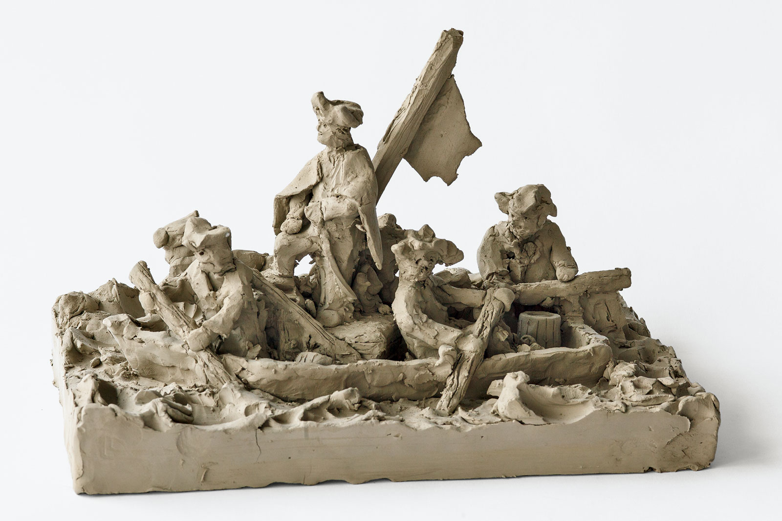 "Peter Fischli and David Weiss: George Washington Crossing the Delaware (from ""Suddenly This Overview""), 1981-present"