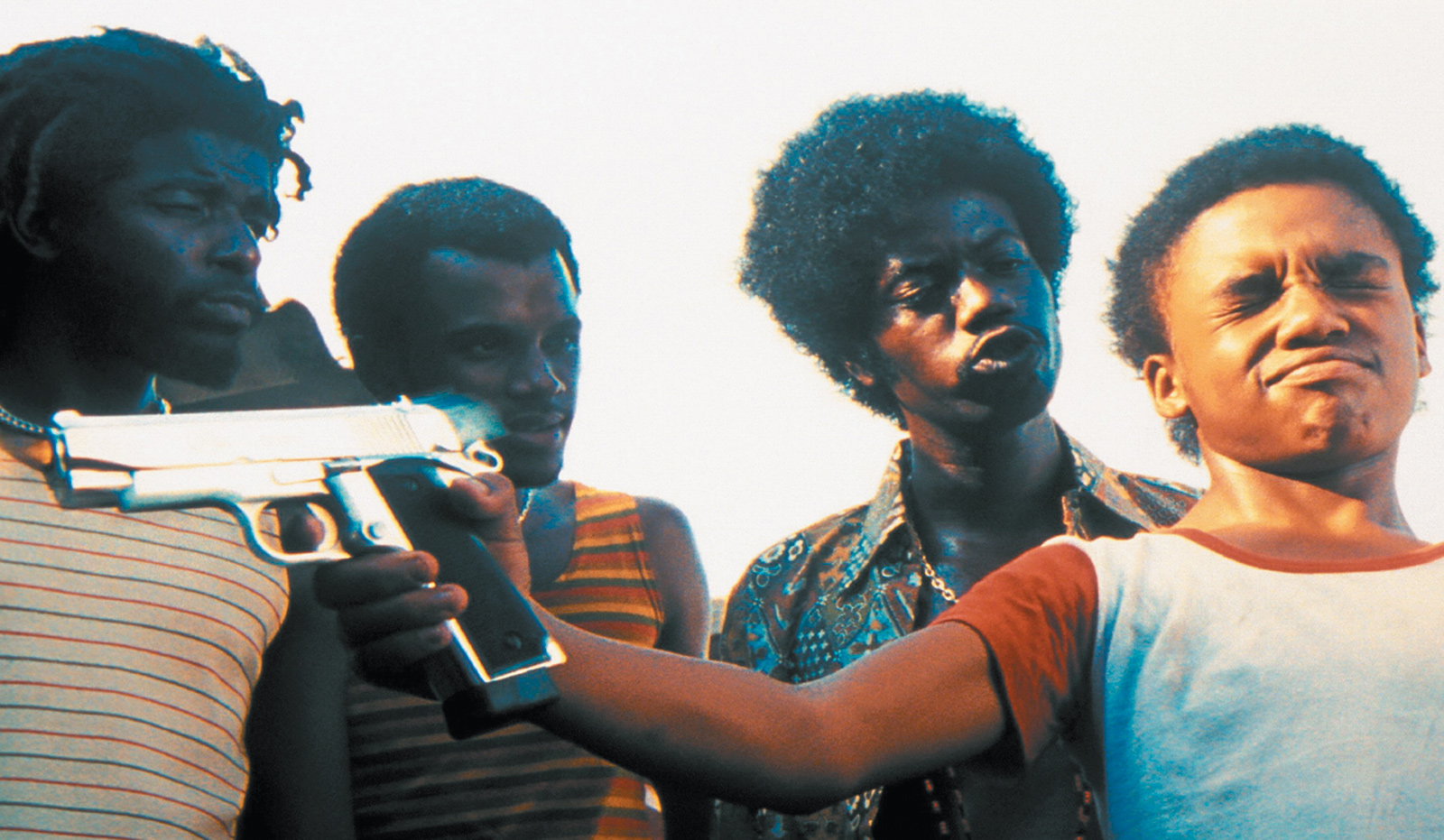 A scene from the film City of God (2002), based on the novel by Paolo Lins