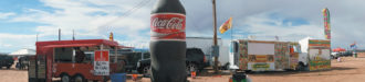 Coca-Cola for sale at the Western Navajo Nation Fair, Tuba City, Arizona, October 2015; photograph by Larry Towell