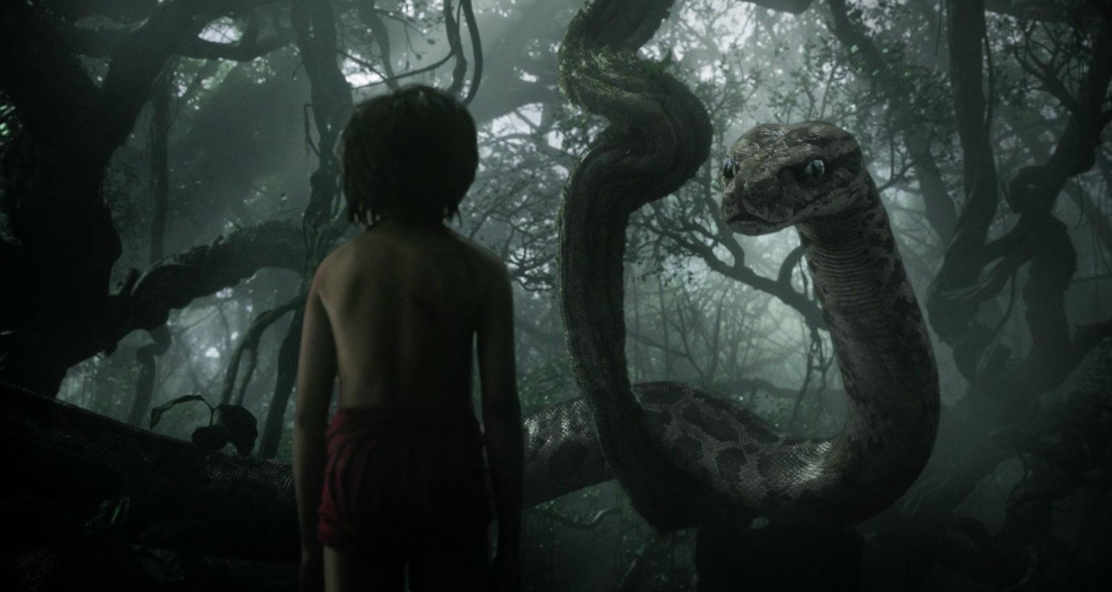 Kaa, voiced by Scarlett Johansson