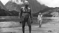 Antonio Bolivar as Karamakate and Jan Bijvoet as Theo in Ciro Guerra's Embrace of the Serpent, 2015