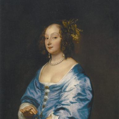 Anthony Van Dyck: Mary, Lady Van Dyke, née Ruthven, circa 1640