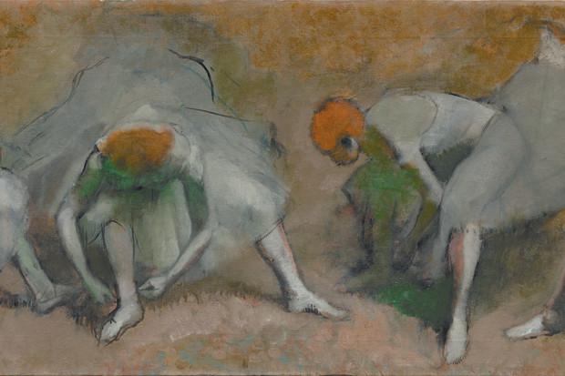 Edgar Degas: <i>Frieze of Dancers</i>, oil on canvas, circa 1895