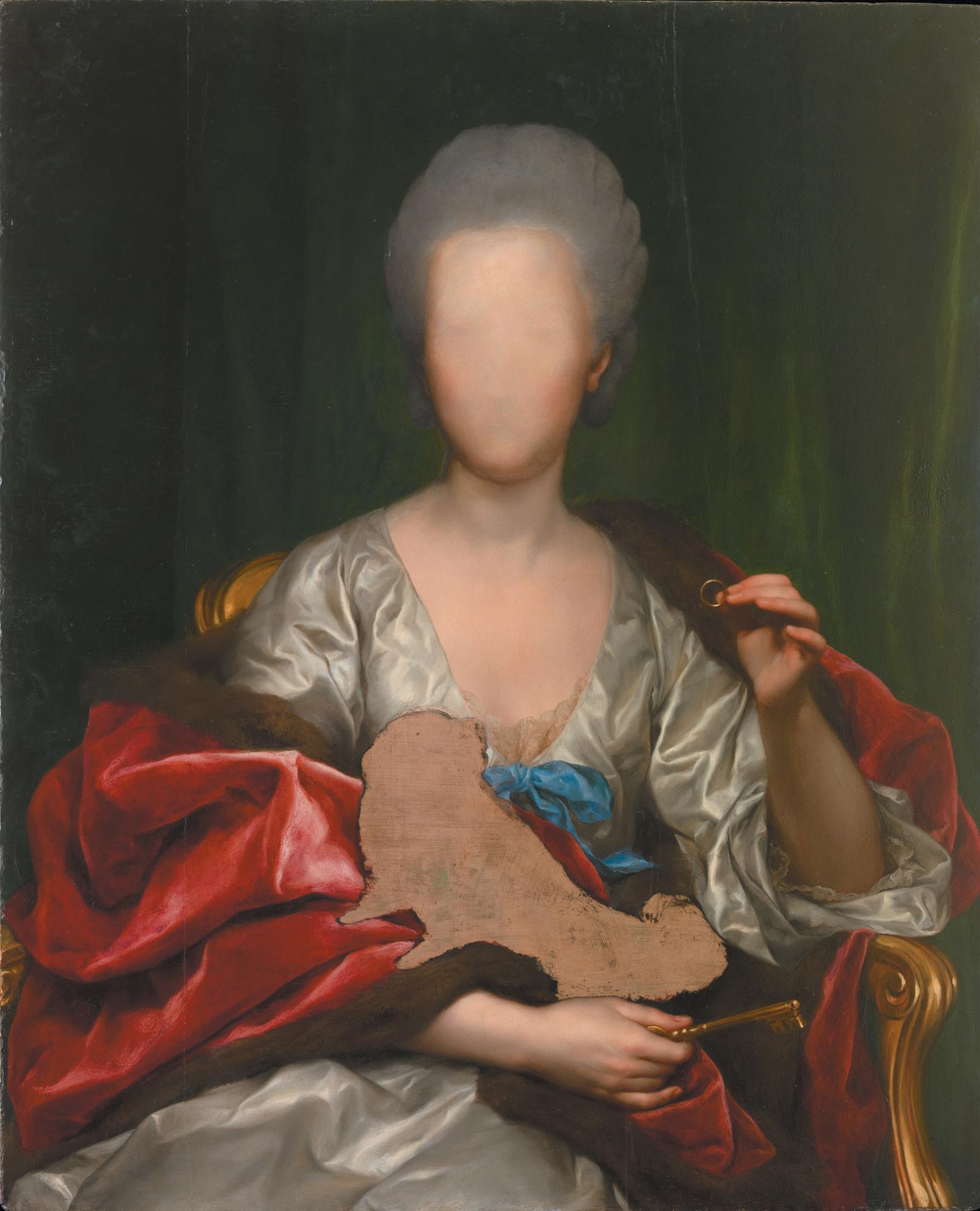 Anton Raphael Mengs: Portrait of Mariana de Silva y Sarmiento, Duquesa de Huescar, 1775