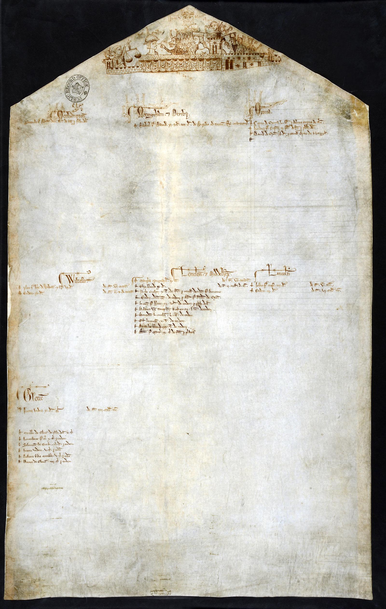 Exchequer Receipt Roll, 1233