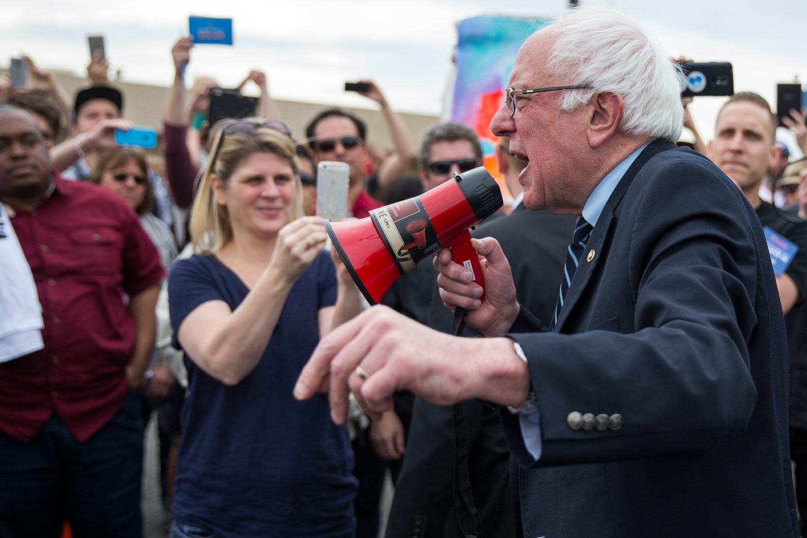 Bernie Sanders, Las Vegas, Nevada, February 14, 2016