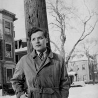 Delmore Schwartz, Cambridge, Massachusetts, 1940s