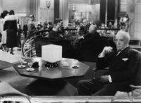 Lewis Stone as Dr. Otternschlag in Edmund Goulding's Grand Hotel, 1932