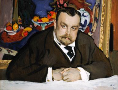 Valentin Serov: Ivan Morozov, 1910