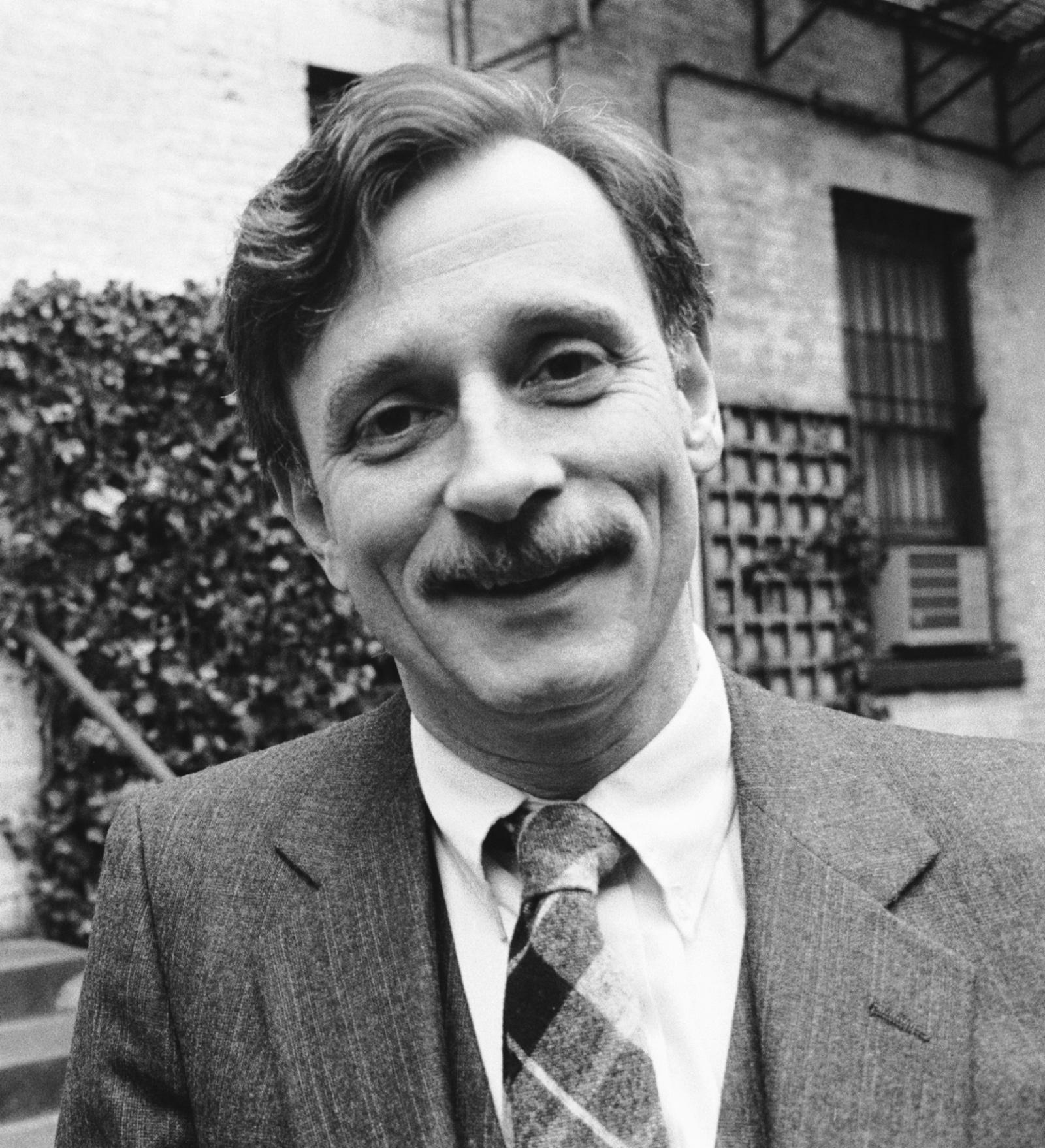 Edmund White, New York City, February 1983