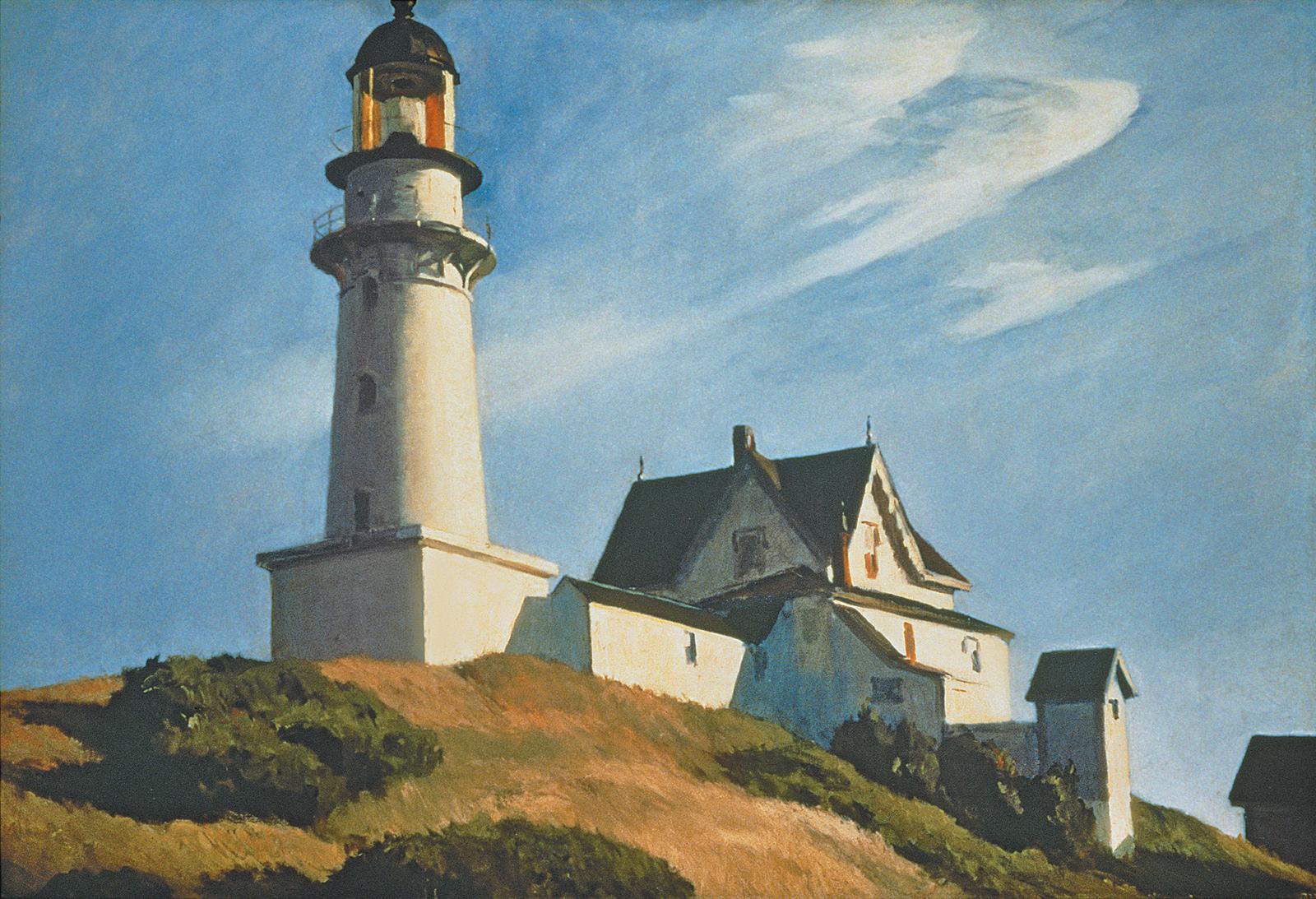 Edward Hopper: Lighthouse at Two Lights, 1929