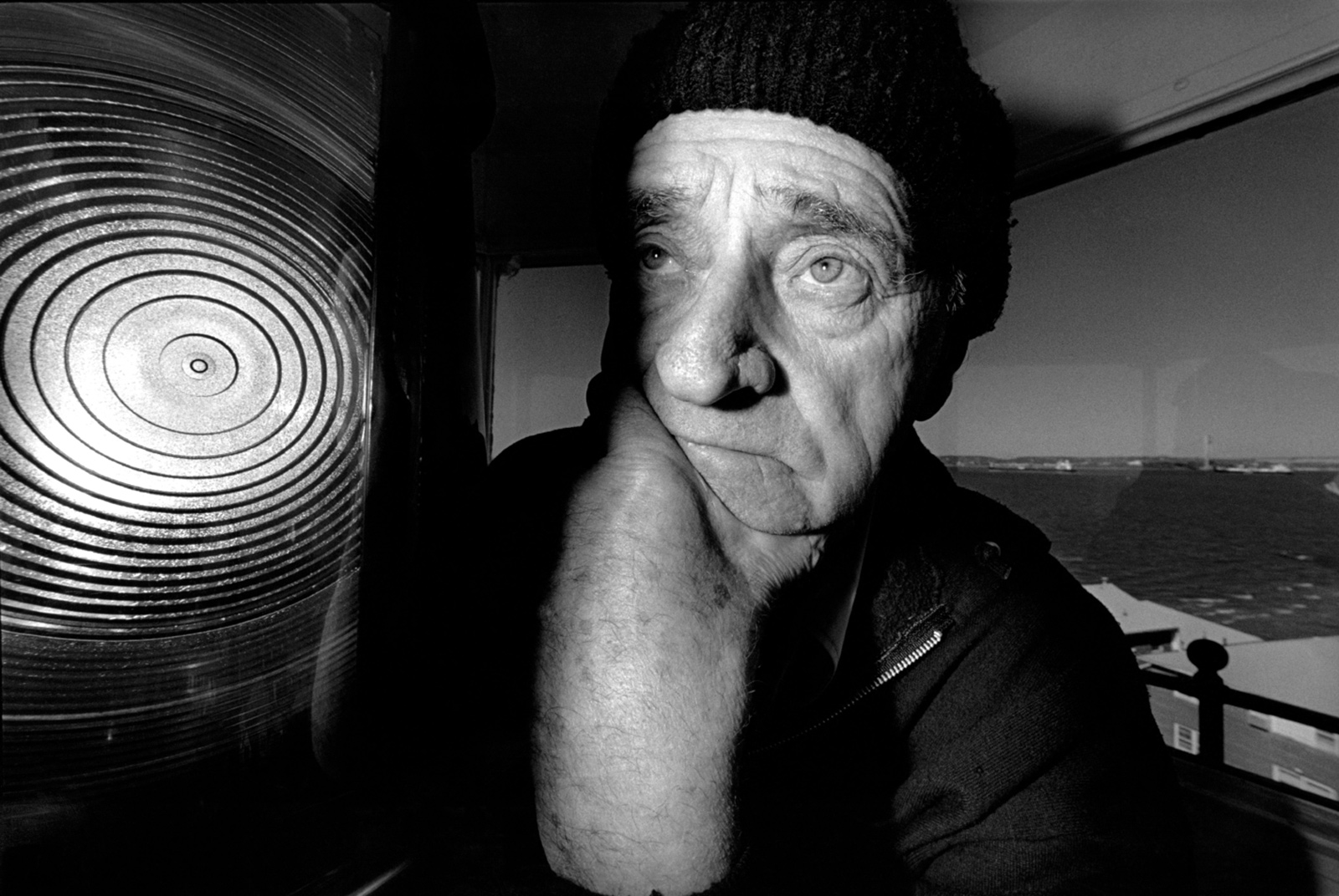 Frank Schubert, aged eighty, when he was the last lighthouse keeper on the Eastern Seaboard, Brooklyn, 1996