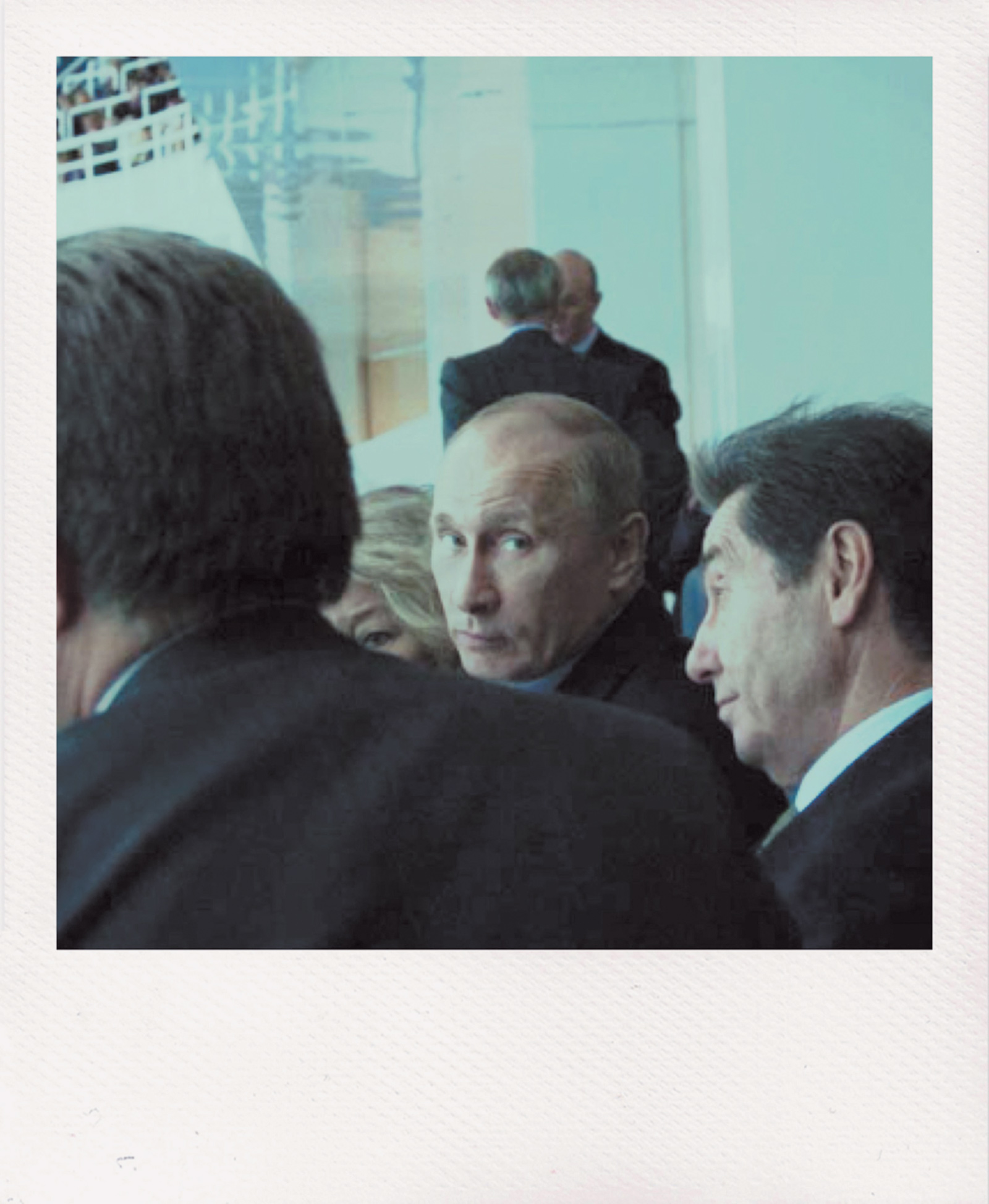 Vladimir Putin at an ice-skating event in Sochi, Russia, before the Olympics, April 2013