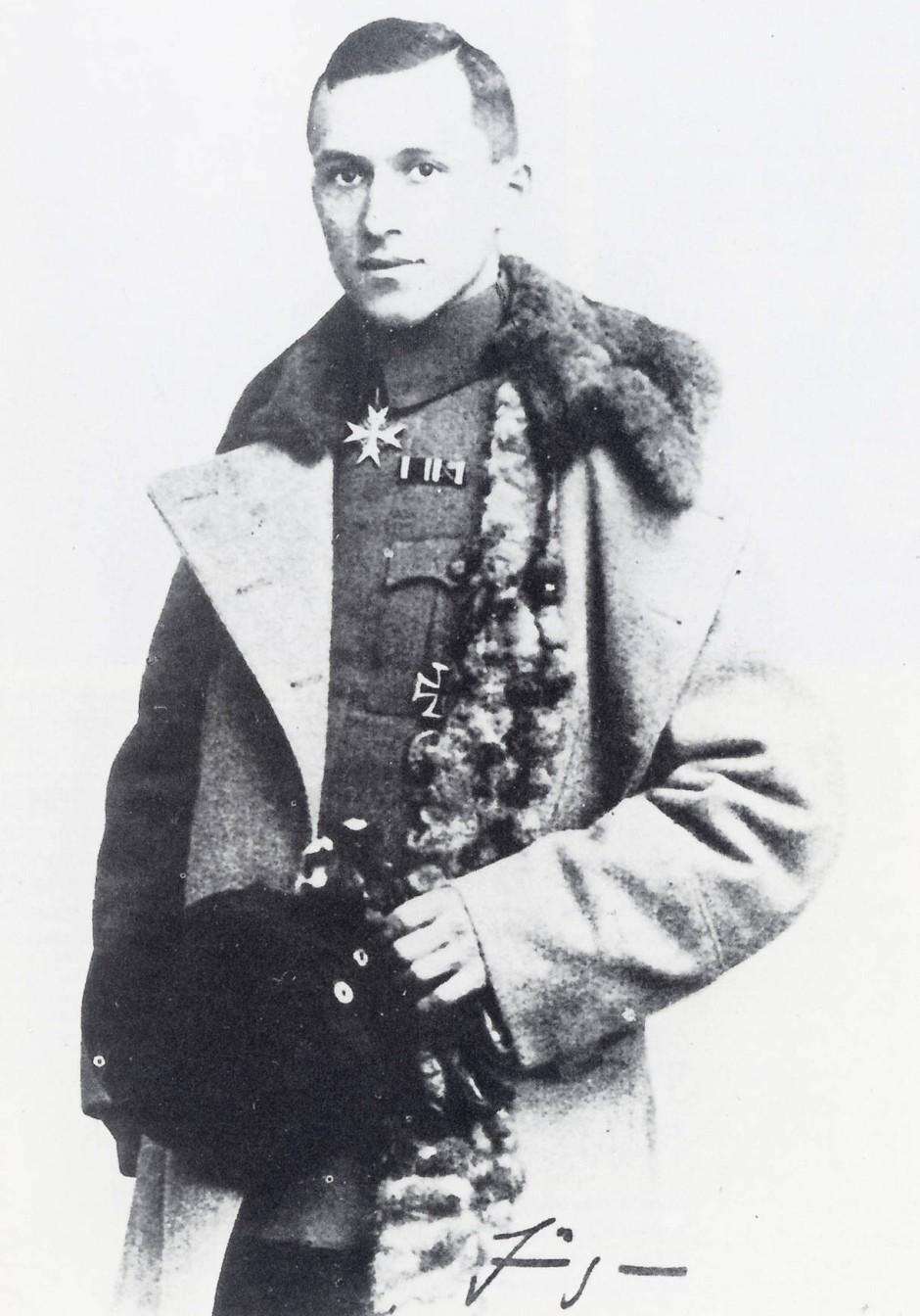 Ernst Jünger in his war uniform