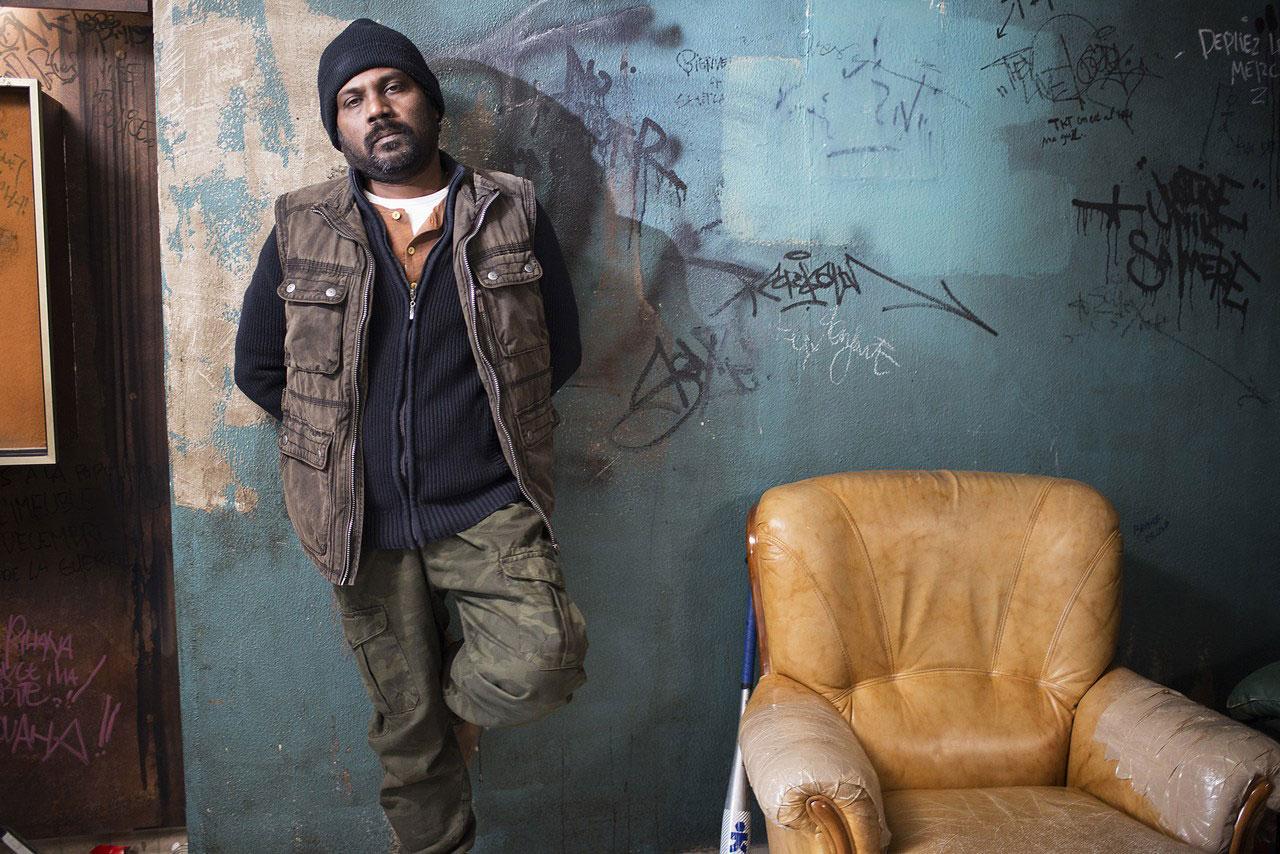 Jesuthasan Antonythasan as Dheepan in Jacques Audiard's Dheepan, 2015