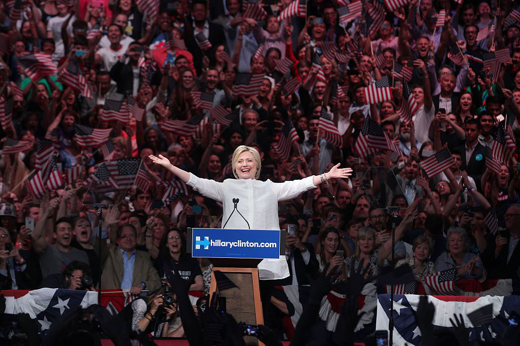 Hillary Clinton, the Brooklyn Navy Yard, New York, June 7, 2016
