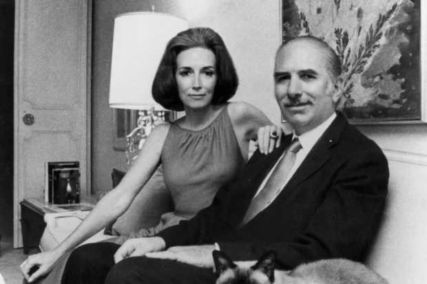 Helen Gurley Brown and David Brown, New York City, 1963