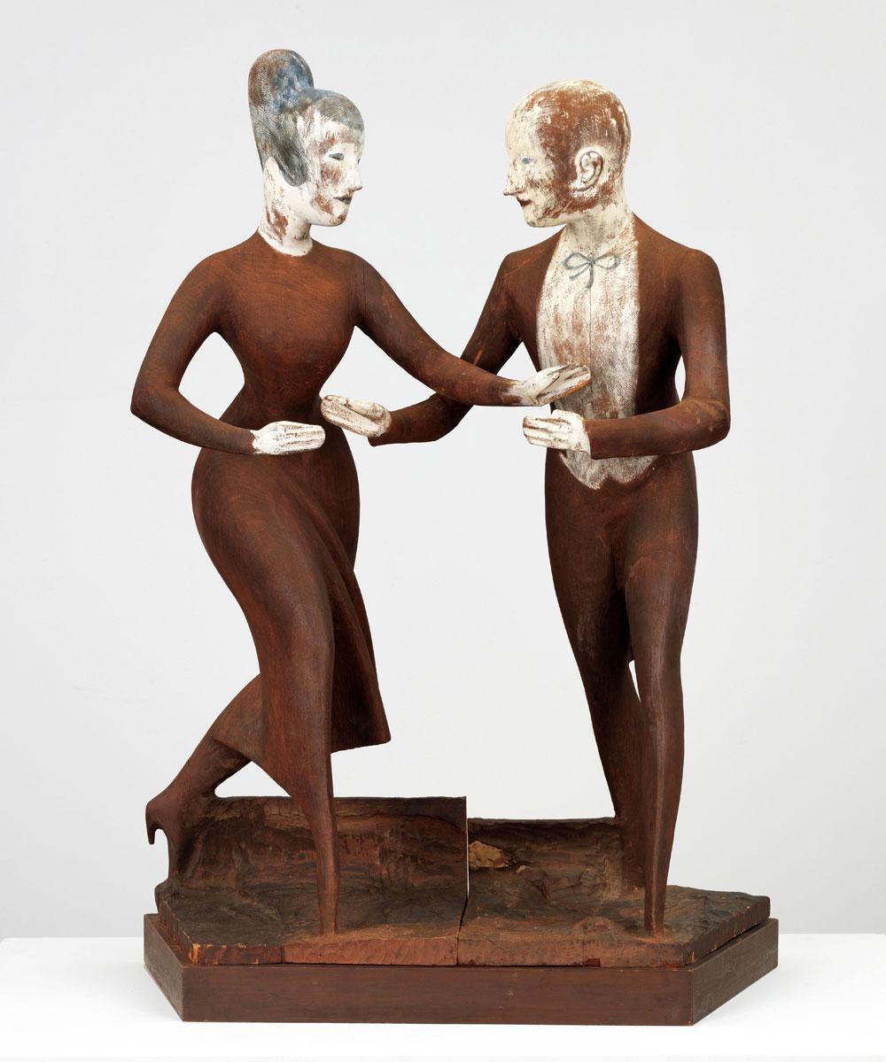 Elie Nadelman: Tango, circa 1920–1924