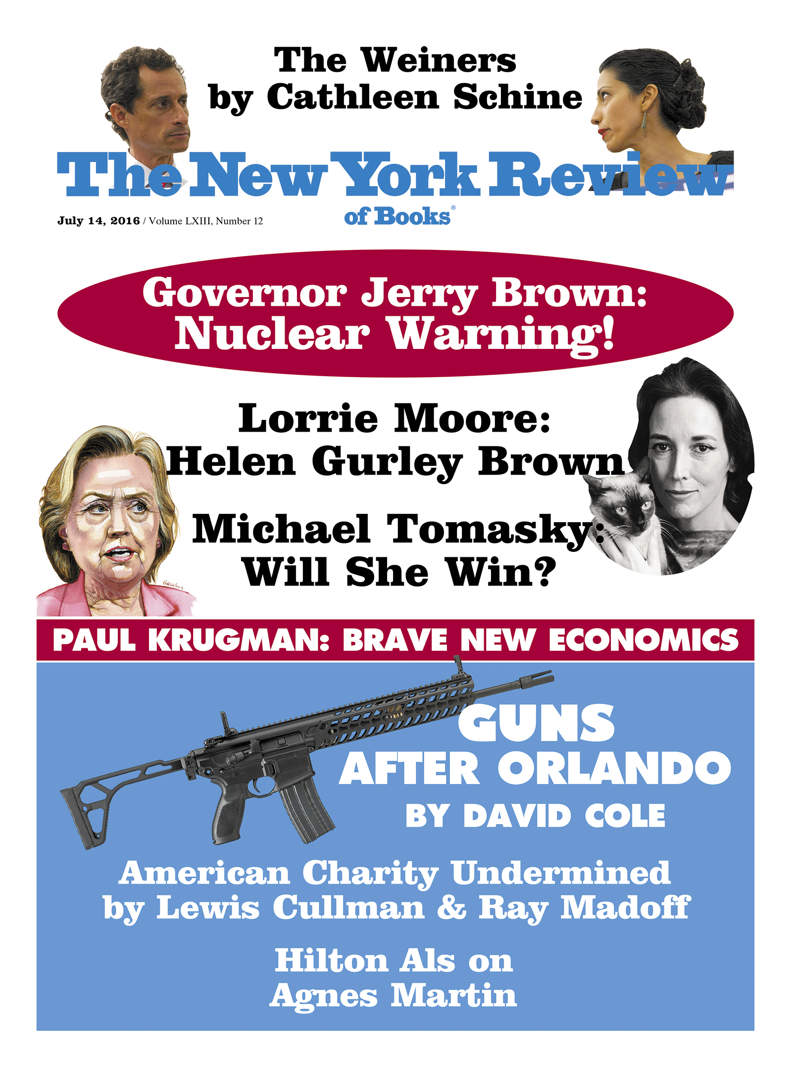Image of the July 14, 2016 issue cover.