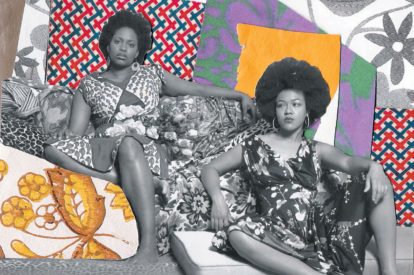 Mickalene Thomas: A Moment's Pleasure #2, 2007; from the book Muse: Mickalene Thomas: Photographs, just published by Aperture
