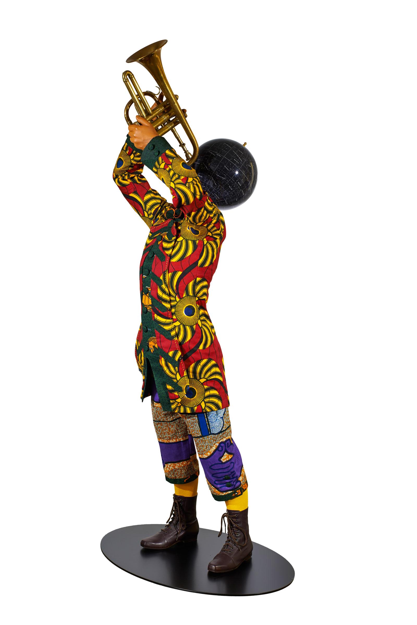 Yinka Shonibare: Trumpet Boy, 2010