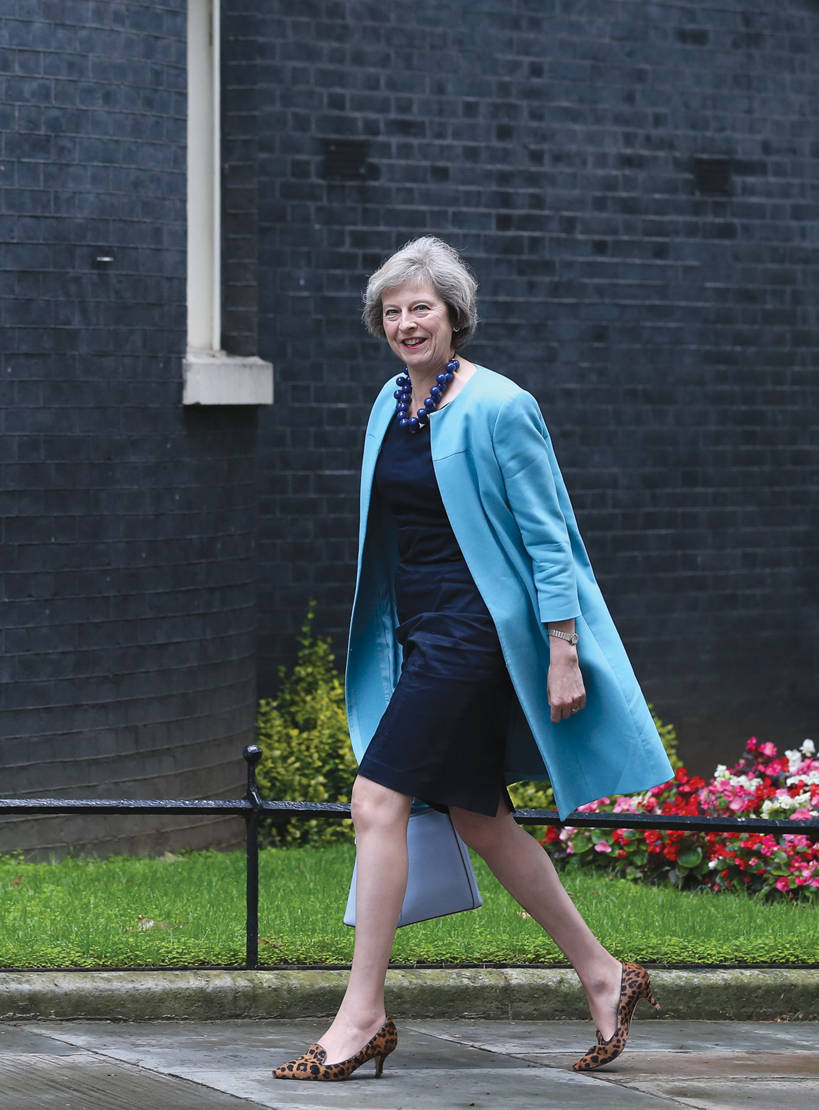 Theresa May, Britain's new prime minister, London, July 2016