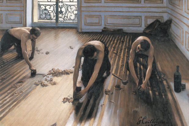 Gustave Caillebotte: <i>The Floor Planers</i>, 1875