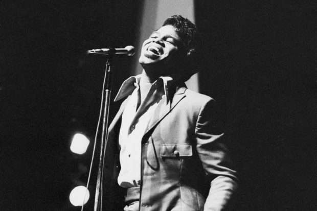 James Brown at the Olympia music hall, Paris, September 1969