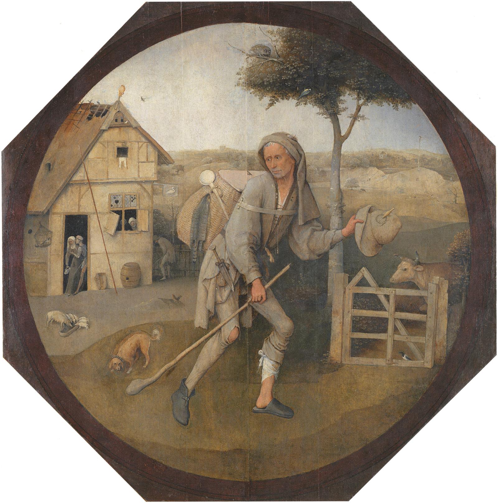 Hieronymus Bosch: The Wayfarer, circa 1500–1510