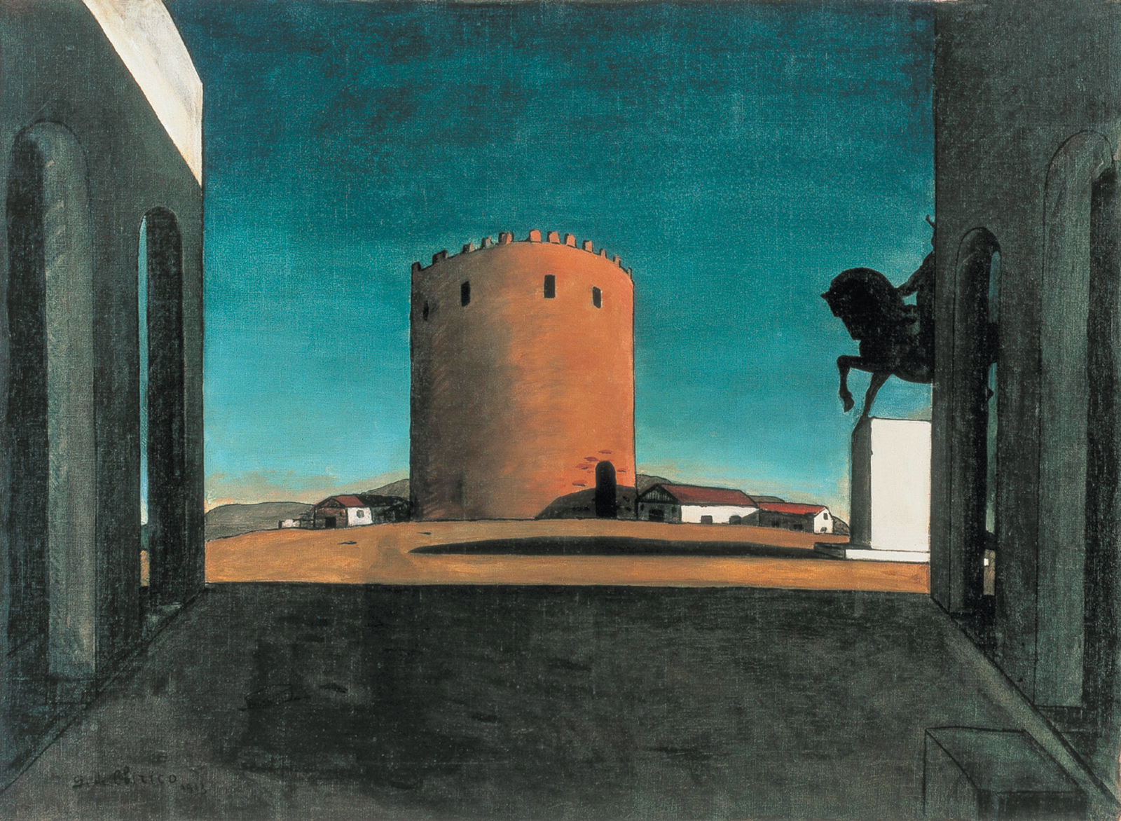 Giorgio de Chirico: The Pink Tower, 1916