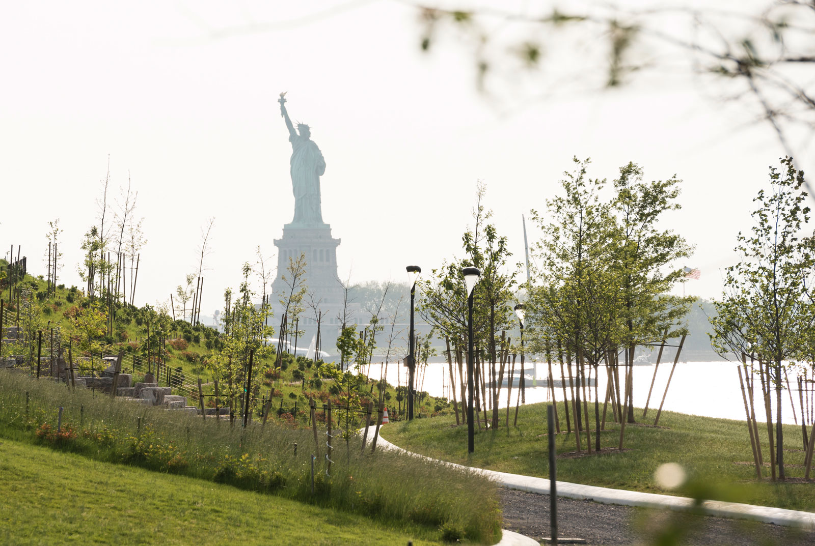 The Statue of Liberty, seen from Governors Island, New York, 2016