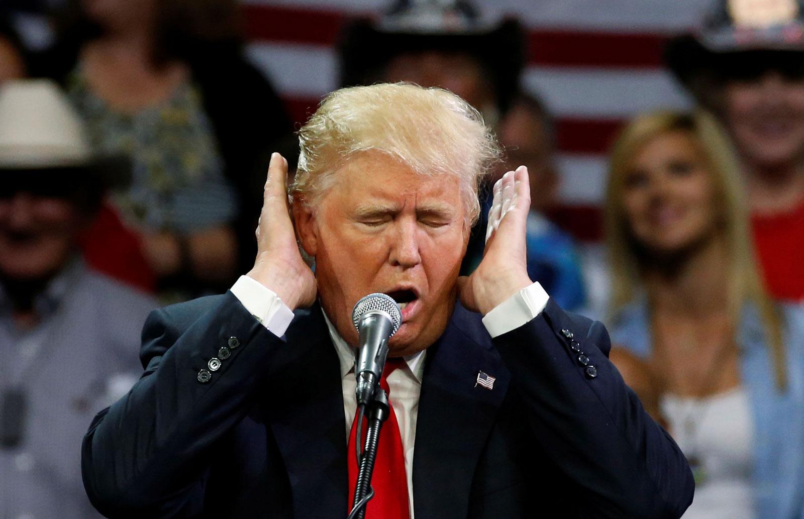 Donald Trump, Fresno, California, May 27, 2016