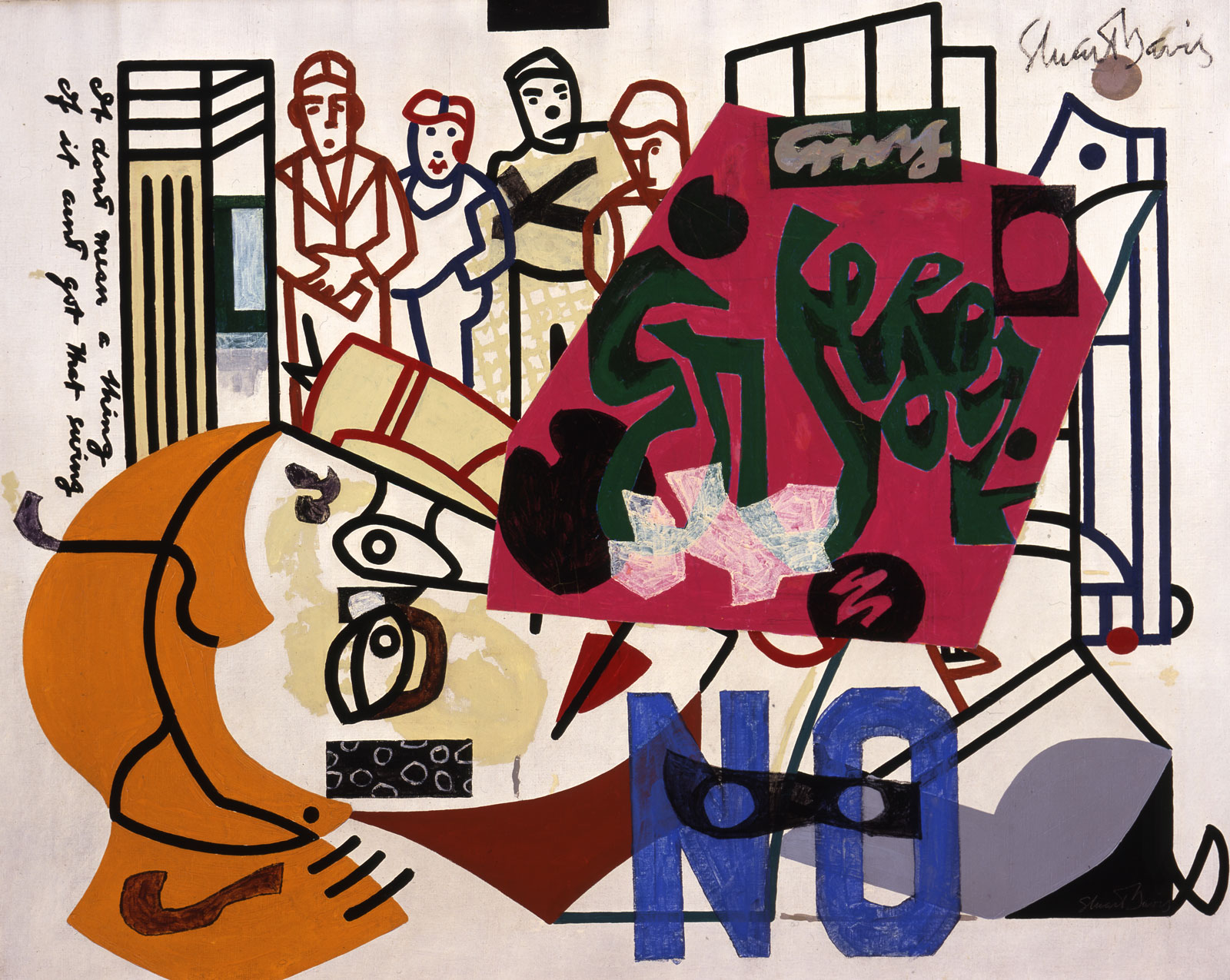 Stuart Davis: American Painting, 1932/1942–1954