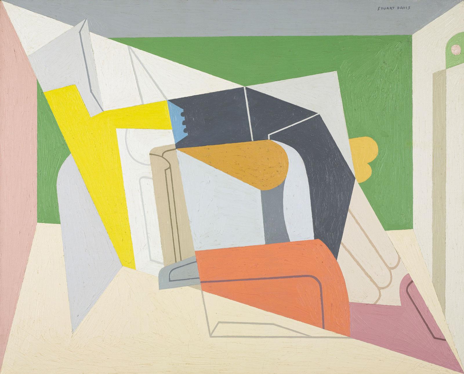 Stuart Davis: Egg Beater No. 2, 1928